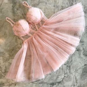 Victoria's Secret Ballerina Princess Babydoll 34C